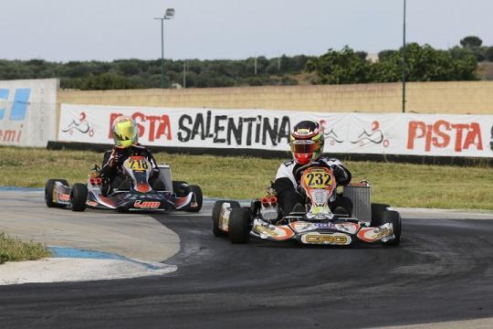 Quinta tappa della ROK Cup area sud 2016 alla pista Salentina di Ugento (LE)