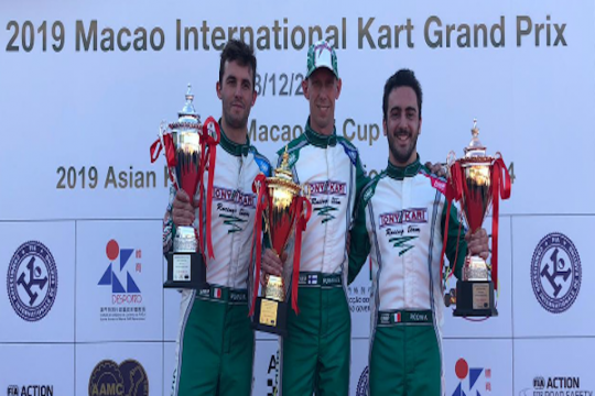 Tony Kart domina a Macao