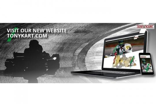 E' online il nuovo sito TONYKART.COM