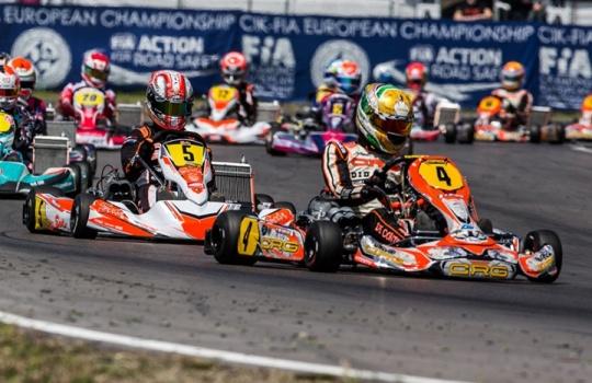 Europeo KZ e KZ2 a Genk (B)