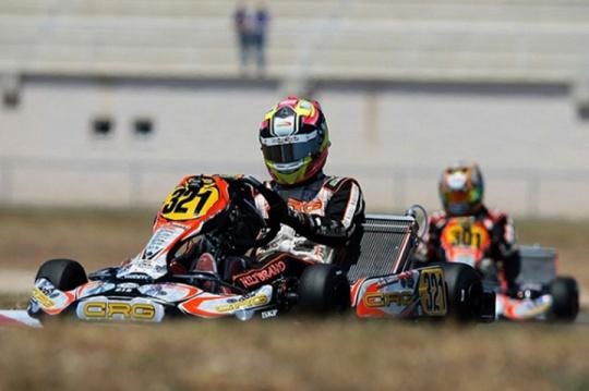 Crg con Hiltbrand in corsa per il titolo europeo in KZ2
