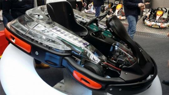 Crg S.p.A. Presenta il nuovo kart elettrico E-Drenaline con motore by Linde Emotion