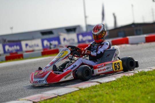 Modena Kart raccoglie dati utili nel weekend WSK di Lonato