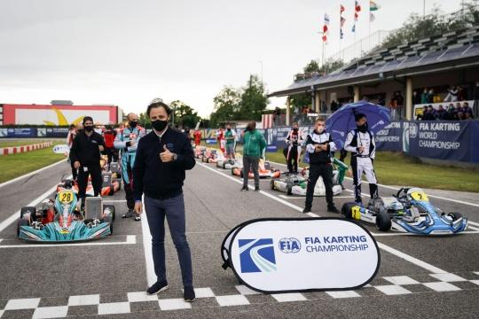 Felipe Massa: «Il Campionato del Mondo dovrebbe dare un'immagine positiva del kart»