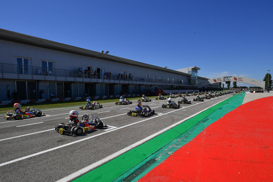 WSK Open Cup, Adria – Qualifiche
