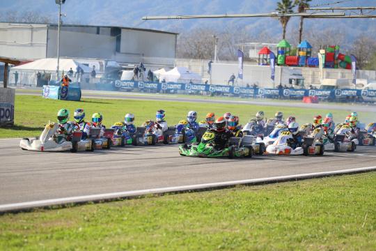 Gamoto Kart conclude la stagione con un podio al Trofeo Senna