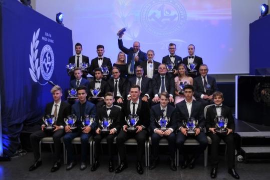 Premiati a Milano i Campioni CIK-FIA 2017