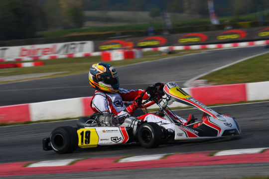 La KZ si muove ancora: Pedro Hiltbrand con Lennox Racing