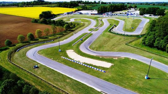 FIA Karting European Championship, Essay – Camara e Slater in pole position