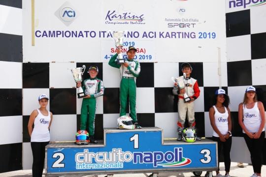 "ACI Karting - Italiano kart ""infuocato"" a Sarno"