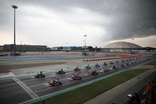 Campionato Italiano ACI - Fuoco e fiamme sul tracciato di Adria