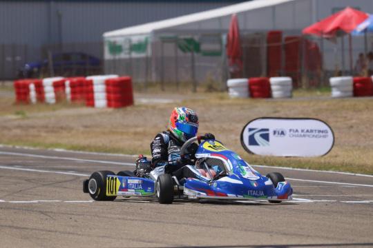 FIA Karting Euro Zuera – Antonelli e Slater, Campioni d'Europa!