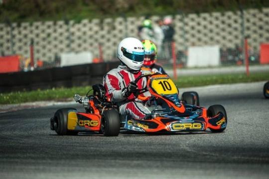 Parte di slancio il progetto Briggs Kart Championship