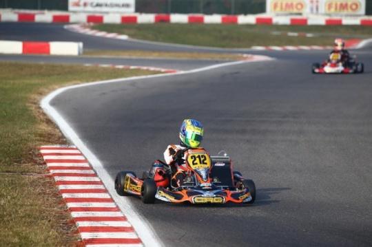 """Buona la prima per il nuovo volto CRG, Andrea Rosso: """"Vado in pista sempre per stare davanti""""."""