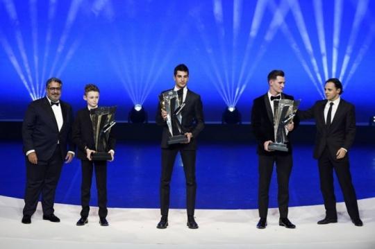 La FIA ha premiato Paolo De Conto,  Campione del Mondo con CRG
