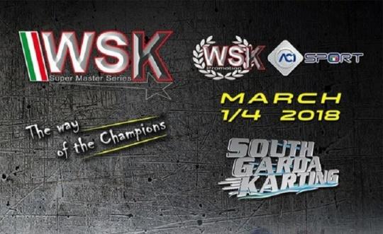 WSK Super Master Series – Annullata la tappa di Lonato