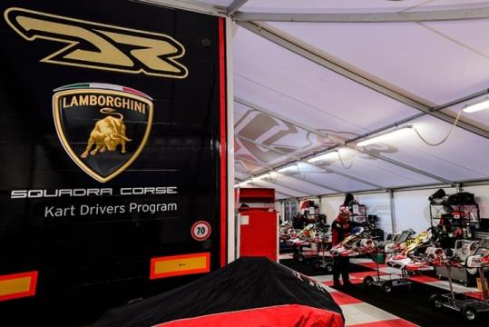 La Lamborghini cerca nel kart i futuri campioni GT