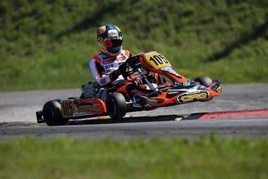 CRG sul podio di Ampfing con Bortoleto nel Campionato Europeo ok-junior