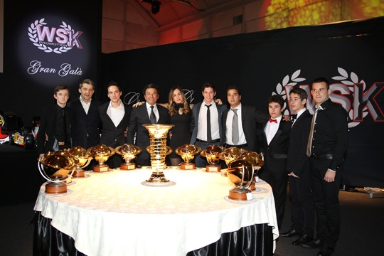 "CRG, AL WSK GRAN GALA' E' MAX VERSTAPPEN ""DRIVER FOR THE YEAR"""
