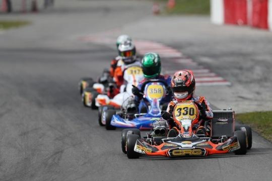 CRG con Cunati sul podio di Wackersdorf nel Campionato Europeo KZ2