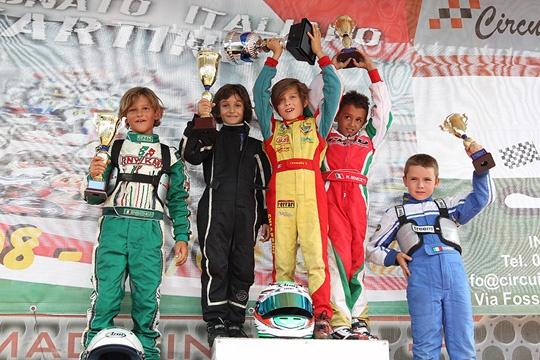 Battipaglia assegna i Trofei Nazionali a Lattanzi (Prodriver Am), Ivone (Prodriver Pro) e Chiappini (60 Baby)