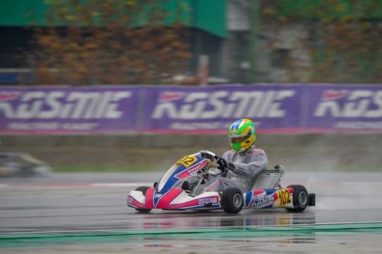 Concluso l'ultimo round della WSK Final Cup del Kosmic Racing Department