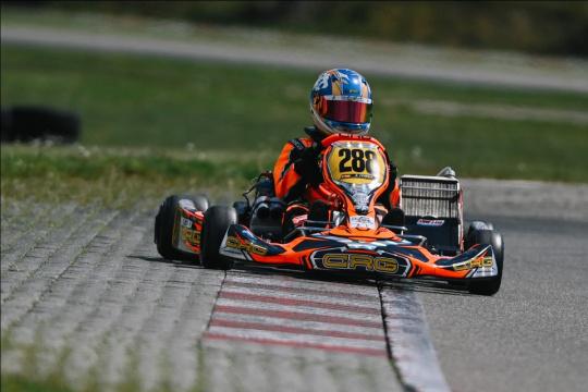 Le classi OK e OKJ a Essay per il 2° round del FIA European Championship