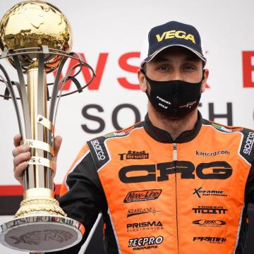 CRG conquista il podio in KZ2 con Jeremy Iglesias alla WSK Euro