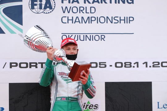 FIA Karting World Championship, Portimao – Bradshaw e Slater Campioni, paura in OK