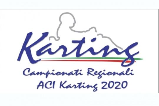 Il nuovo calendario dei Campionati Regionali ACI Karting