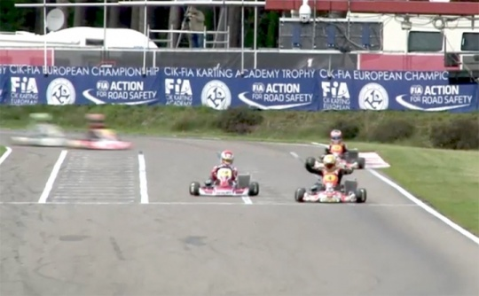 Europeo KZ, De Conto (Crg/Tm) vince anche a Genk