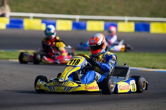 Alberto Cavalieri finalmente sul podio