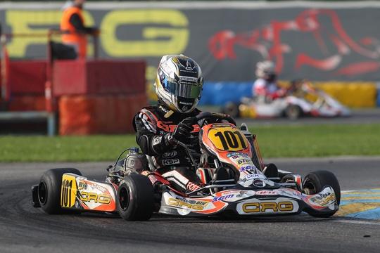 CRG, a Davide Forè sfugge la vittoria in KZ2 nella WSK Final Cup