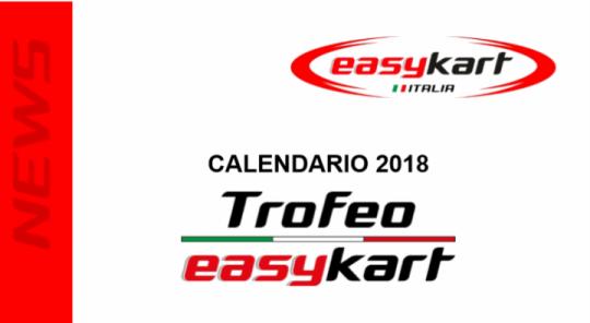 Svelato il calendario Easykart, tre prove nei weekend ACI CSAI