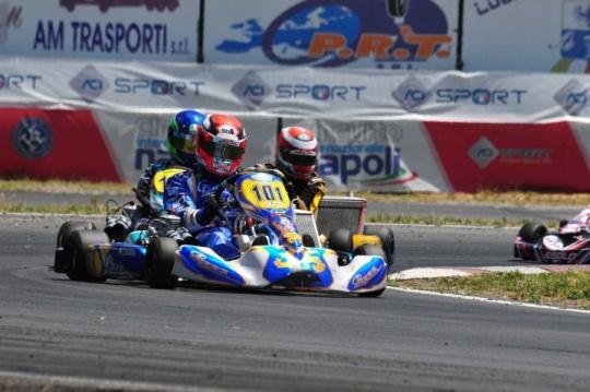 Grande secondo turno del Campionato Italiano Karting a Sarno