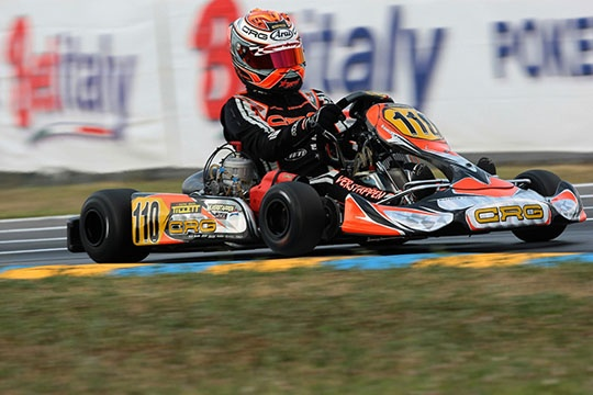 """""""Good job, Max!"""" E' arrivata la tripletta dell'anno per CRG e Max Verstappen con la vittoria in KZ2 nella WSK Master Series"""