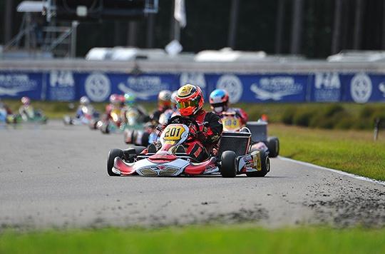 Dopo le manche Antonsen e Midrla in pole in KZ2