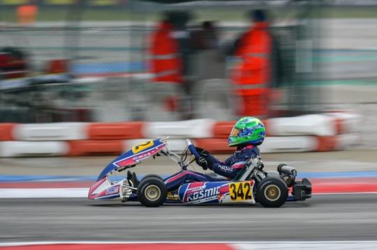 Inizio impegnativo per il Kosmic Racing Department ad Adria