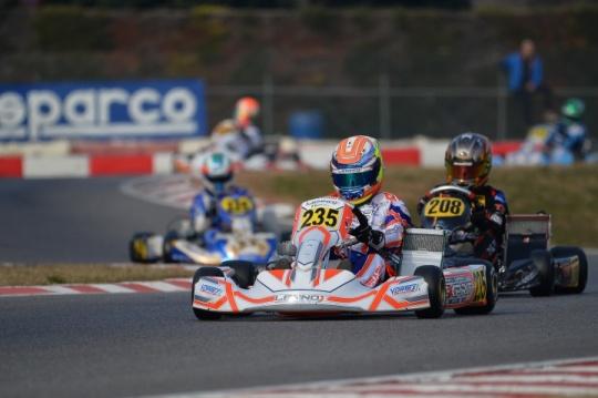 Weekend difficile per Lorenzo Ferrari alla Winter Cup