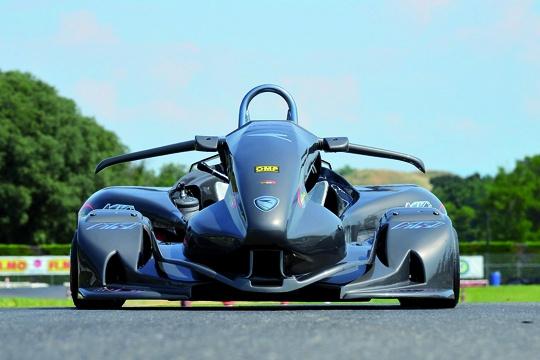 Nuovo MKI Monaco R1, il kart aerodinamico
