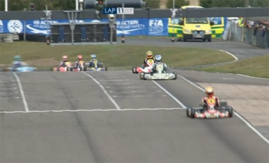 Prefinale Mondiale KZ. De Conto vince il primo confronto con Ardigò