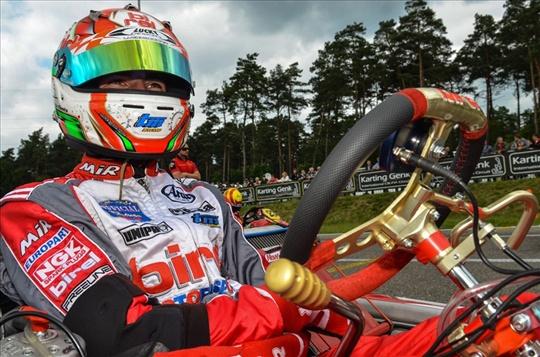 Il team Birel pronto per il Mondiale KZ in Francia