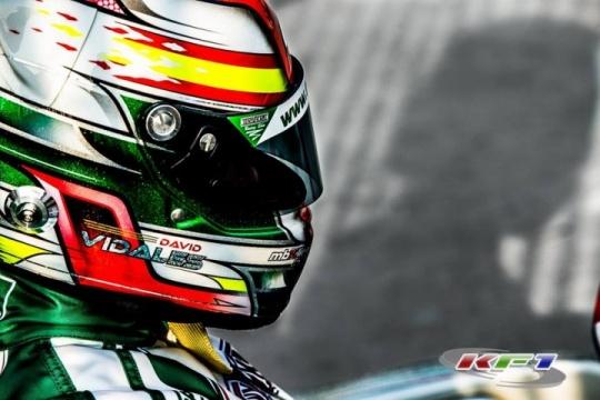 Intervista a David Vidales, 2016 CIK-FIA OK Junior World Vice-Champion