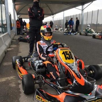 Hauger prepara la stagione in formula con CRG a Lonato