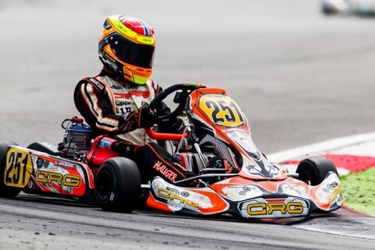 Campionato Europeo KZ2, OK, OKJ. La prima volta di Adria