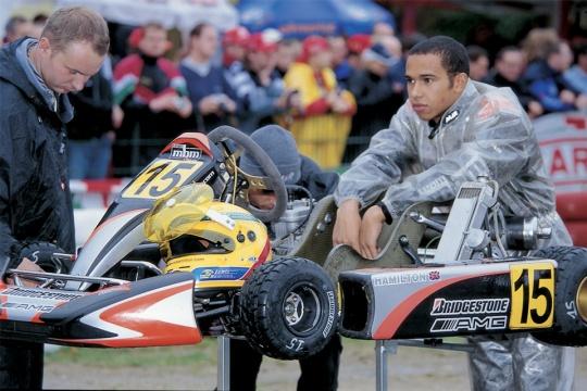 """Hamilton: """"Giro speciale, ma in kart era anche peggio"""""""