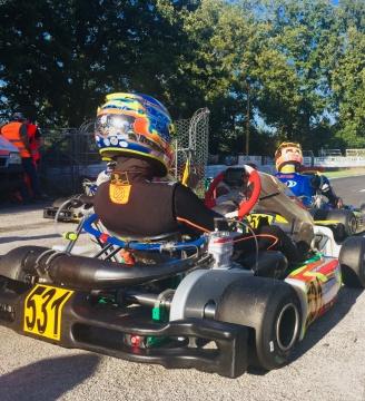 Coppa Italia ACI karting - Manches