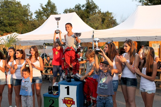 UPN, Iscaro assegna i Trofei