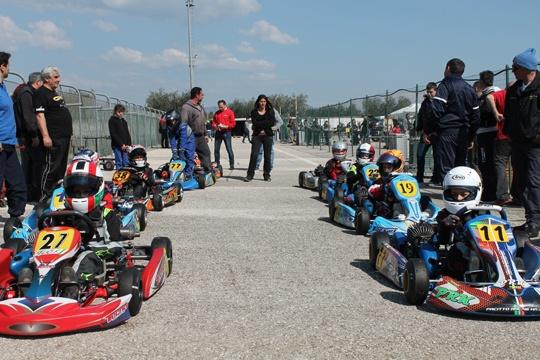 Cup Race Lazio, 54 piloti ad Aprilia
