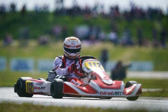Coluccio ritorna sul podio svedese